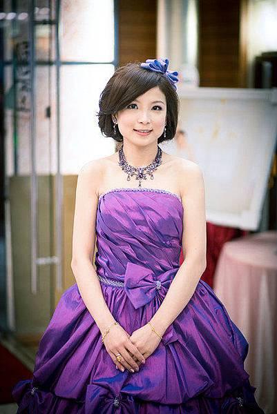 新娘造型-晚禮服_送客造型F042