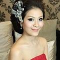 新娘造型-晚禮服_訂婚造型F044