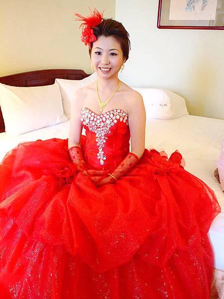 新娘造型-晚禮服_結婚造型F045