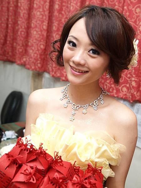 新娘造型-晚禮服_送客造型F046
