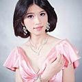 新娘造型-晚禮服_宴客造型F048