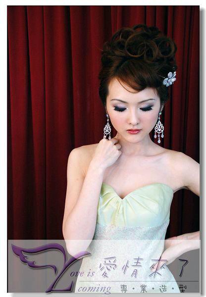 新娘造型-晚禮服_婚紗攝影造型照片集J037