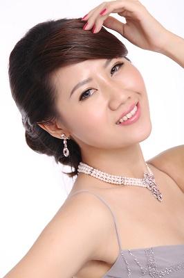 新娘造型-晚禮服_婚紗攝影造型照片集J036