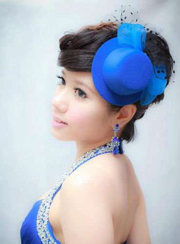 新娘造型-晚禮服_婚紗攝影造型照片集J041