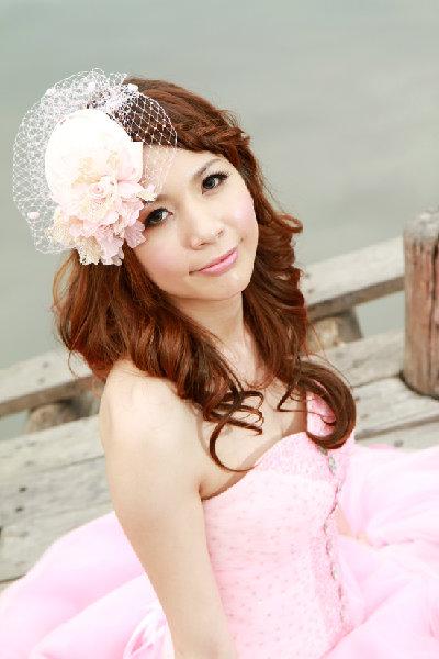 新娘造型-晚禮服_婚紗攝影造型照片集J040