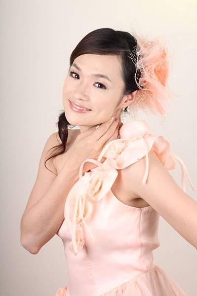 新娘造型-晚禮服_婚紗攝影造型照片集J043