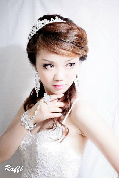 新娘造型-晚禮服_婚紗攝影造型照片集J046