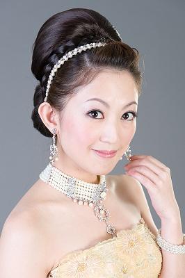 新娘造型-晚禮服_婚紗攝影造型照片集J049