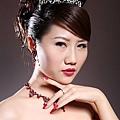 新娘造型-晚禮服_婚紗攝影造型照片集J050