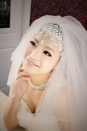 子軒整體造型工作室的新娘妝作品