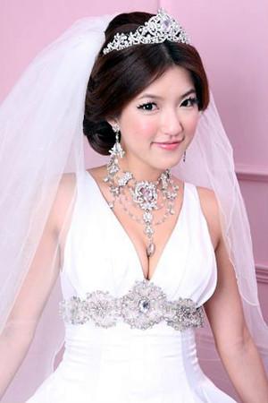 新娘秘書語芳的新娘造型作品