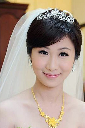蕭慧雯新娘秘書的新娘造型作品
