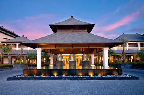峇裡島皇宮般的建築