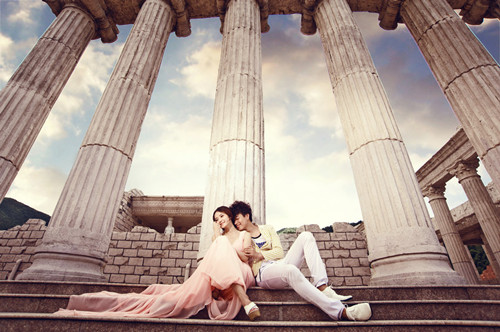 衛城婚紗照