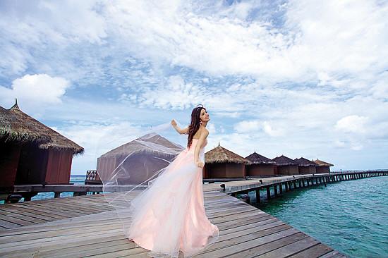 馬爾地夫婚紗照