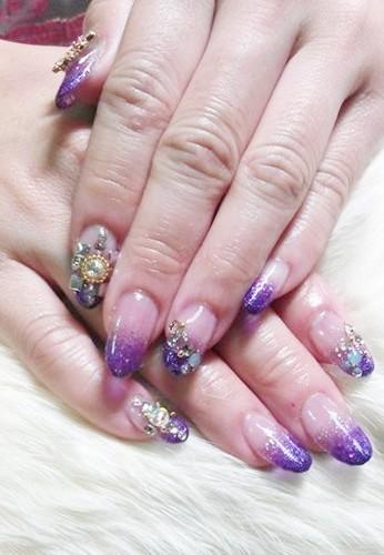 夢幻水晶紫