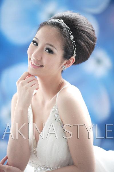 新娘造型-白紗_宴客造型A056