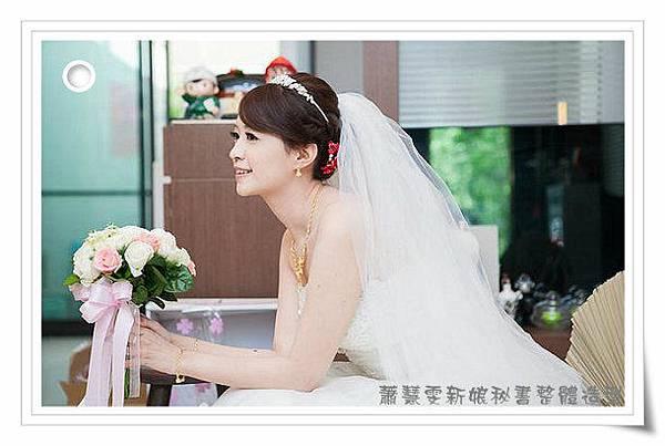 新娘造型-白紗_宴客造型A057