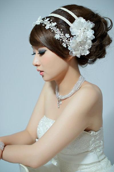 新娘造型-白紗_宴客造型A058