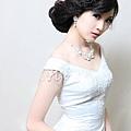 新娘造型-白紗_宴客造型A059