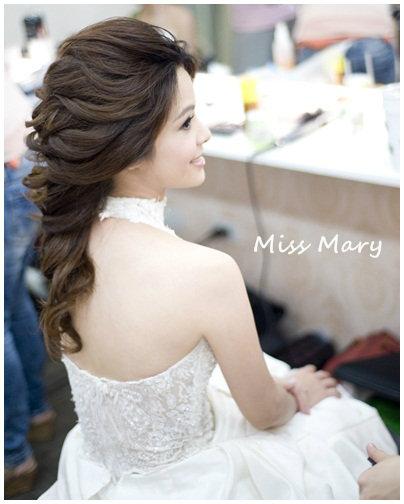 新娘造型-白紗_宴客造型A060