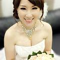 新娘造型-白紗_宴客造型A061