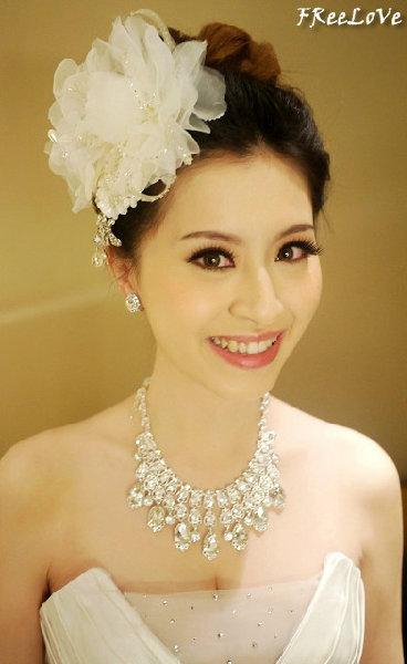 新娘造型-白紗_宴客造型A062