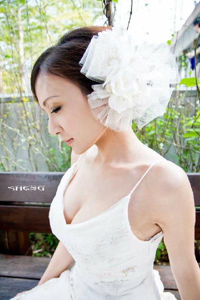 新娘造型-白紗_宴客造型A064