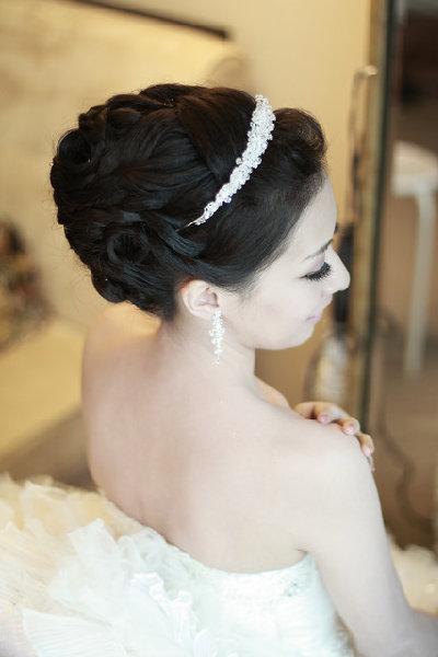 新娘造型-白紗_宴客造型A066