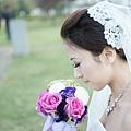 新娘造型-白紗_宴客造型A070