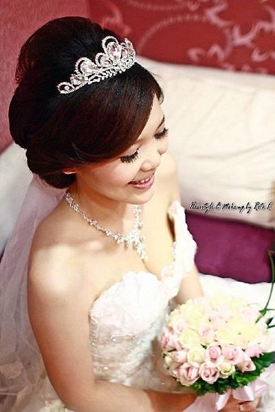 新娘造型-白紗_宴客造型A077