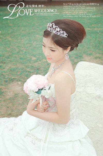 新娘造型-白紗_宴客造型A081