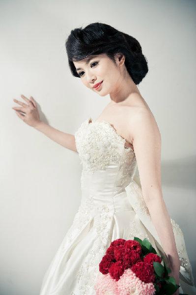 新娘造型-白紗_宴客造型A080