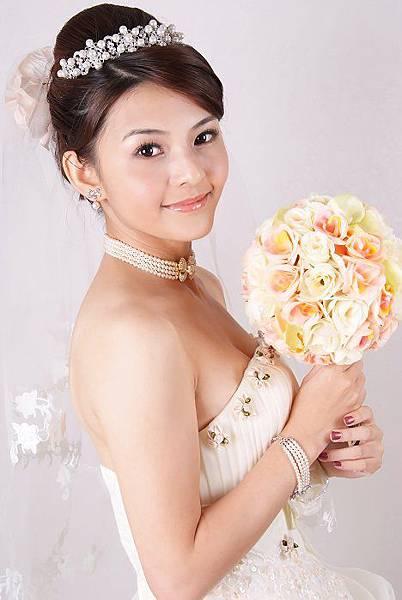 新娘造型-白紗_宴客造型A082