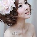 新娘造型-晚禮服_敬酒造型F057
