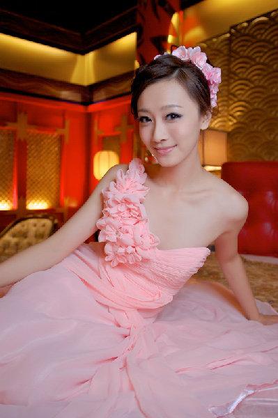新娘造型-晚禮服_敬酒造型F060