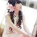 新娘造型-晚禮服_敬酒造型F071