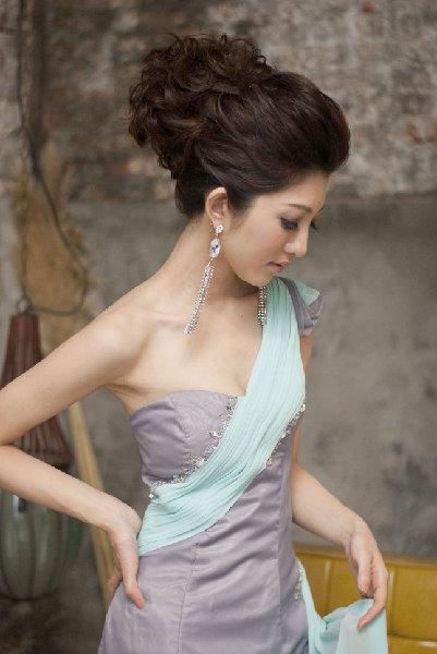 新娘造型-晚禮服_雲林新娘秘書照片集H070