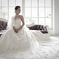 新娘造型-白紗_拍婚紗造型照片集E054