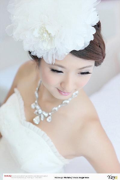 新娘造型-白紗_拍婚紗造型照片集E056