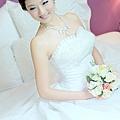 新娘造型-白紗_拍婚紗造型照片集E058