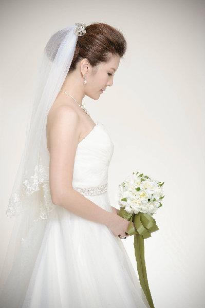 新娘造型-白紗_拍婚紗造型照片集E059