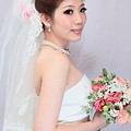 新娘造型-白紗_拍婚紗造型照片集E062