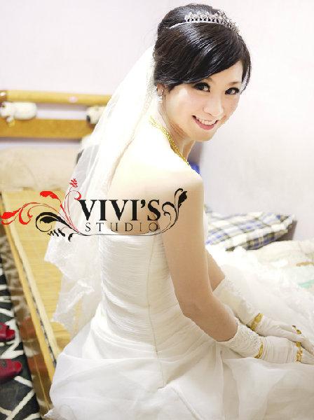 新娘造型-白紗_拍婚紗造型照片集E064