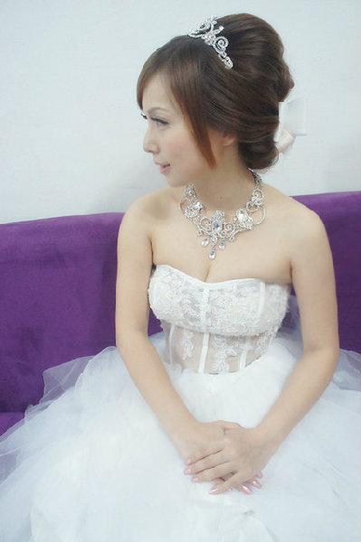 新娘造型-白紗_拍婚紗造型照片集E065