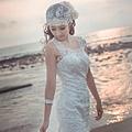 新娘造型-白紗_拍婚紗造型照片集E067