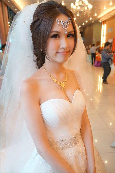新娘造型-白紗_拍婚紗造型照片集E069