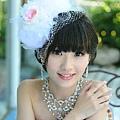 新娘造型-白紗_拍婚紗造型照片集E074