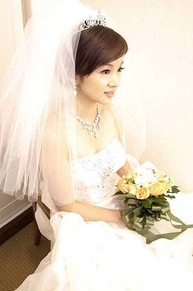 新娘造型-白紗_拍婚紗造型照片集E075