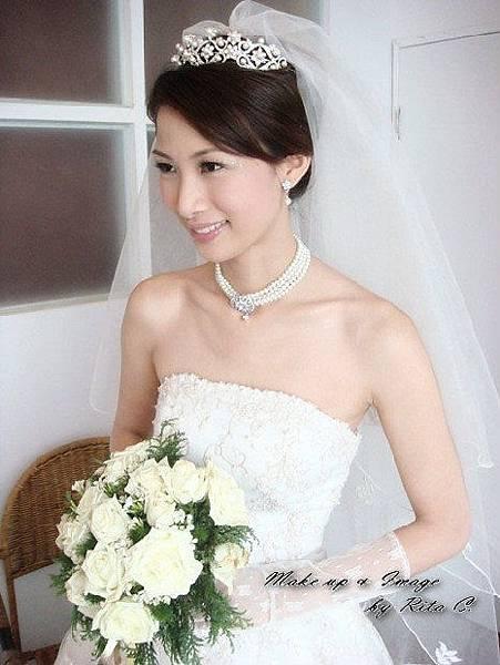 新娘造型-白紗_拍婚紗造型照片集E076